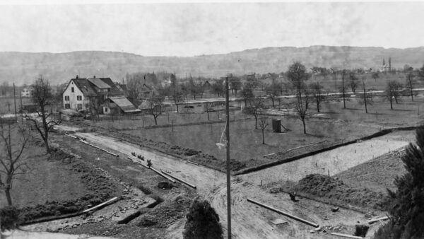 Berchtoldstrasse vor dem Bau des Zeughauses