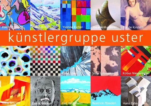Künstlergruppe Uster Ausstellung K2 Zeughausareal Uster